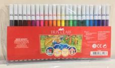 Trix t-862 keçeli kalem 24 renk 7,75