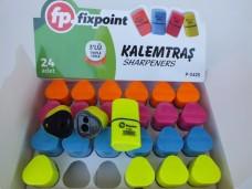 Fixpoint p-2425 3lü kalemtraş pk 24lü  34,50_600x450