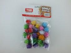 Tgb-2817 simli küçük ponpon 1,75_600x450