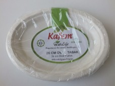 Kafem 26cm oval tabak pk 25li  17,00_600x450