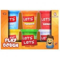let's 6lı oyun hamuru koli (24ad)  pk 13,50