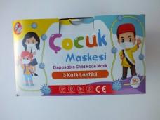 3 katlı çocuk maskesi 50 li  15,00_600x450
