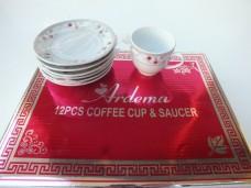 Ardema roza 12prç kahve takımı tk  52,50_600x450