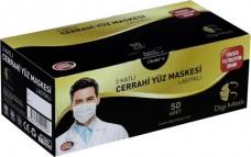 Digi mask cerrahi doktor maskesi BEYAZ pk(50li) 11,00