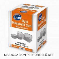Mas bion 9302 üçlü masaüstü seti 32,50
